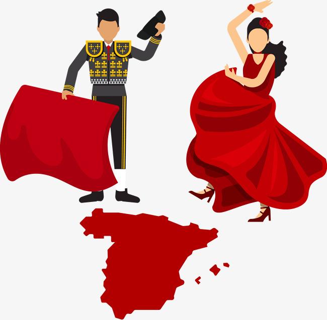 650x637 Spain Clipart Spanish Dancing'34087