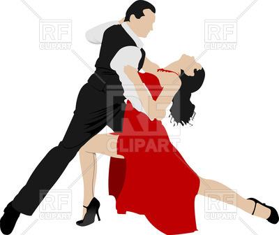 400x336 Couple Dancing Tango Royalty Free Vector Clip Art Image