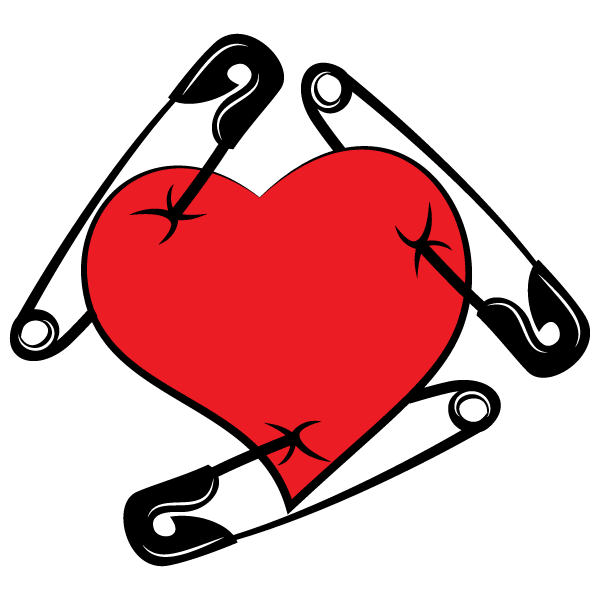600x600 Flame Heart Cliparts
