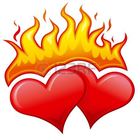 450x450 Flame Heart Cliparts Free Download Clip Art