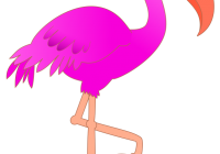 200x140 Flamingo Clip Art Free Free To Use Public Domain Flamingo Clip Art