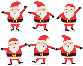 340x270 Collection Of Dancing Santa Clipart High Quality, Free