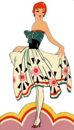 236x414 Miss Meadows' Vintage Pearls Umberto Brunelleschi Illustration