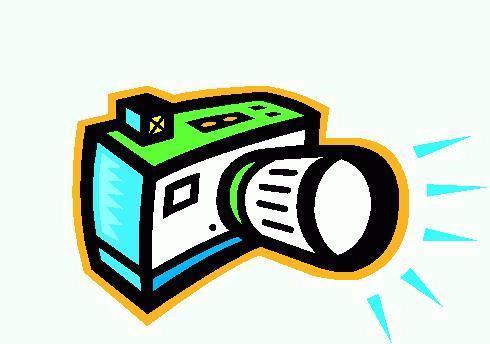 490x344 Flash Camera Clip Art Free Image