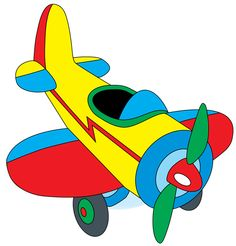 236x246 Cute Airplane Airplane Flying Through Clouds Clip Art Image