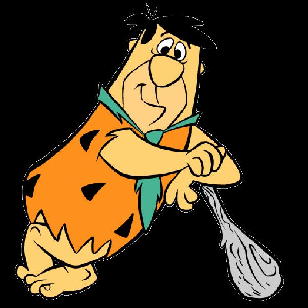 600x600 Flintstones Clipart