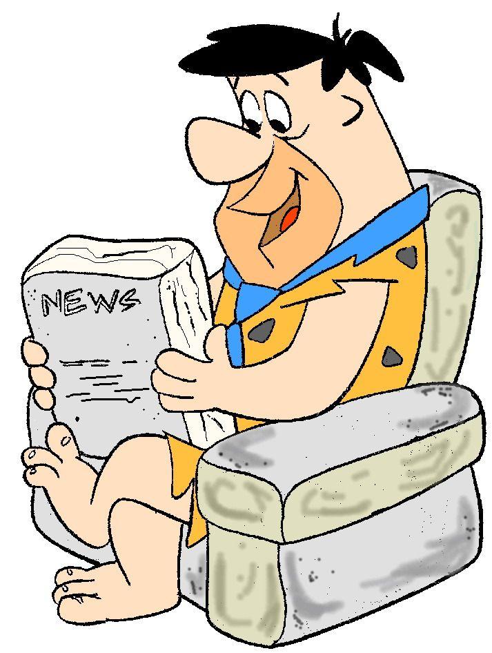 713x946 Fred Flintstone! Artcartoons