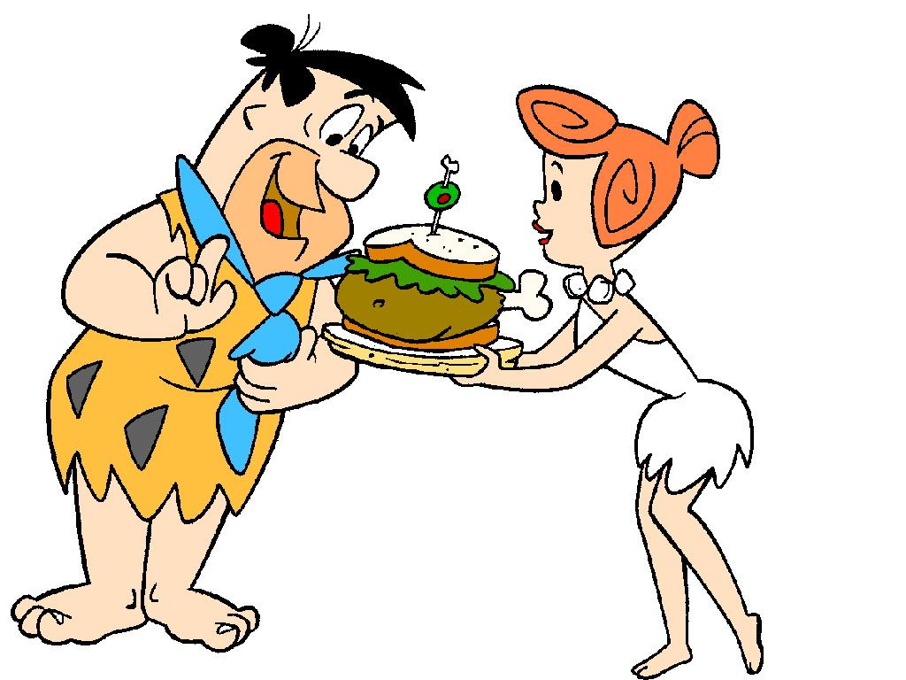 1024x768 Wilma Fred Flintstone Clip Art Cliparts