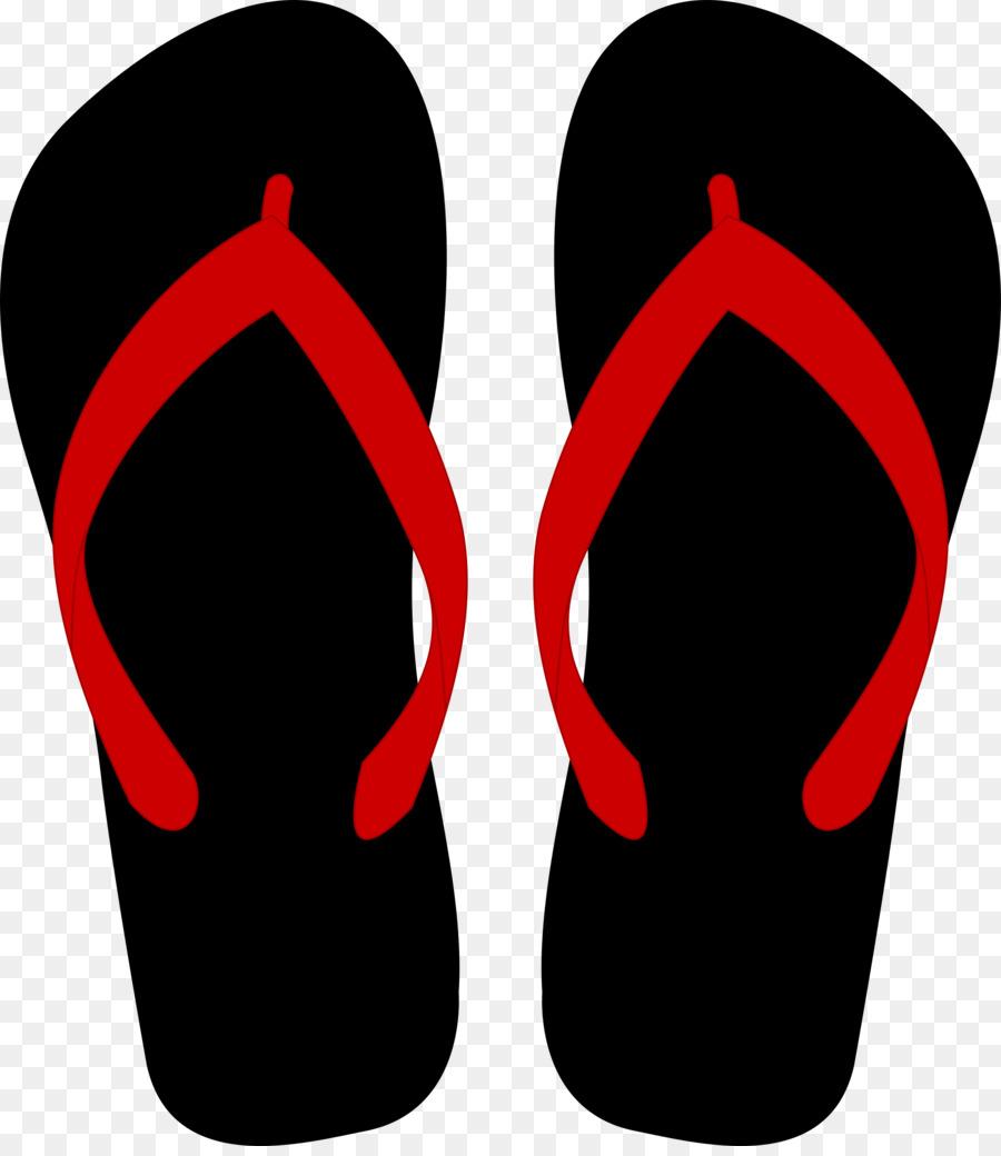 900x1040 Flip Flops Sandal Clothing Clip Art