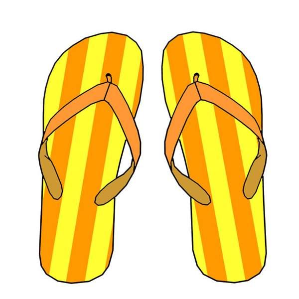 600x600 Flip Flop Clip Art Free Flip Flop Clipart Free Clip Art Images 2