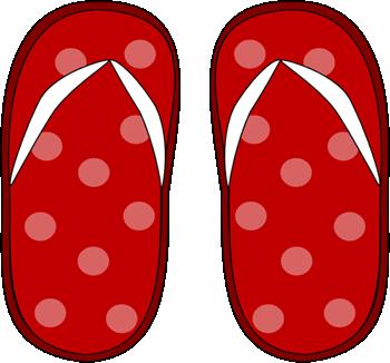 350x326 Flip Flop Clip Art