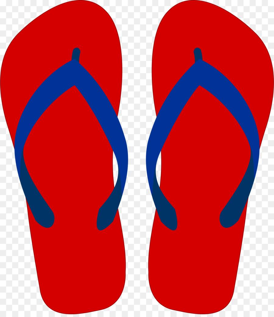 900x1040 Flip Flops Sandal Clip Art
