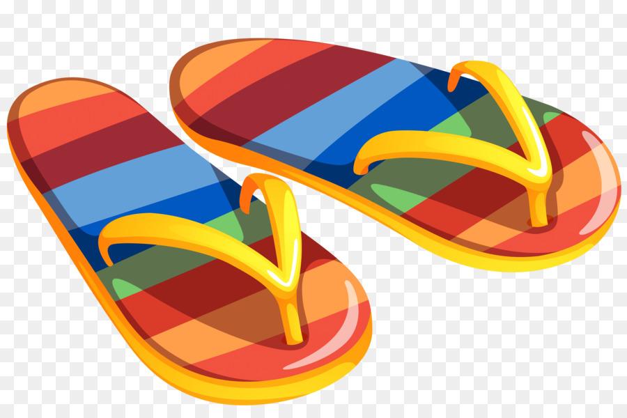 900x600 Flip Flops Slipper Sandal Clip Art