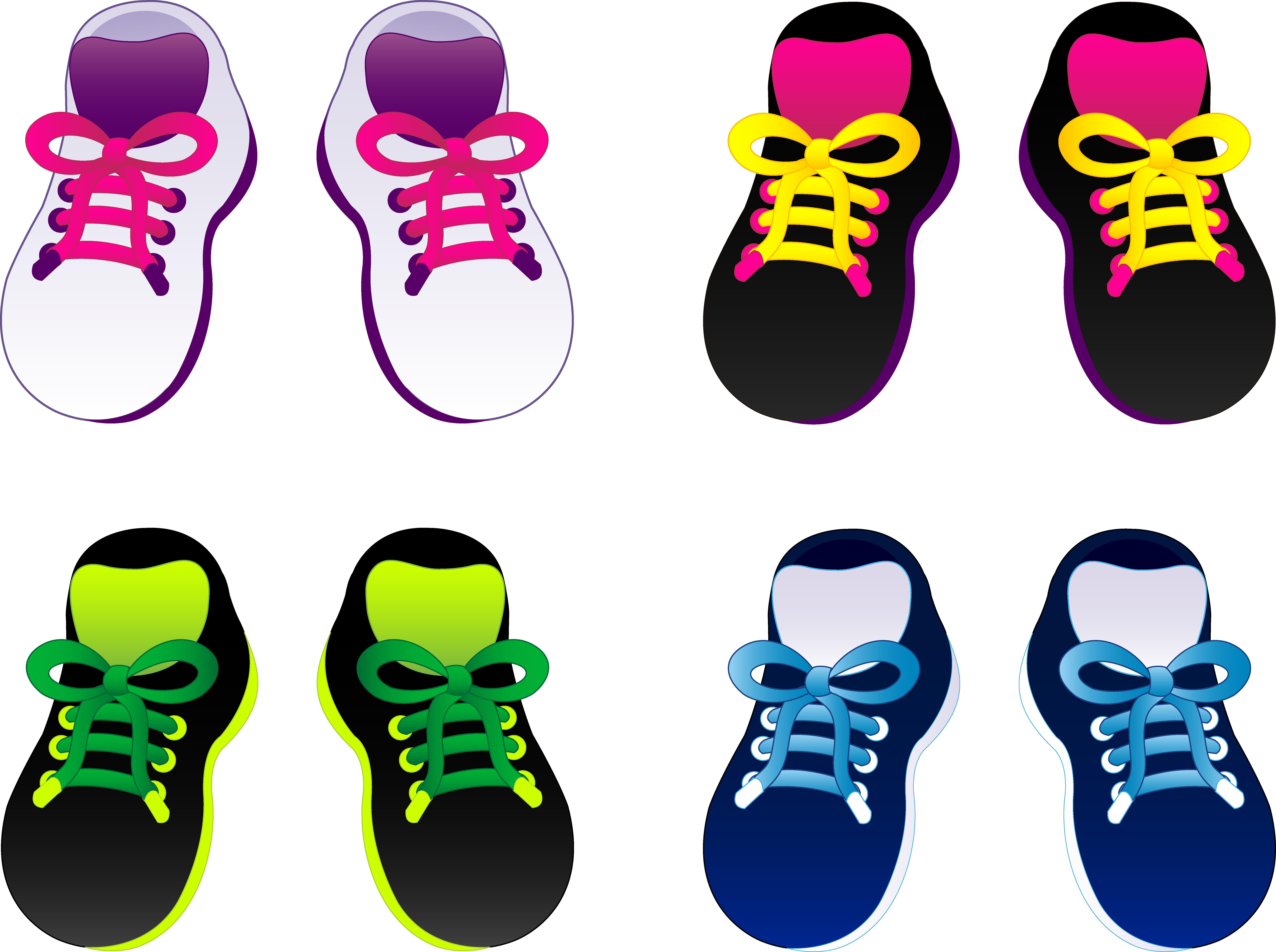 8192x6115 Set Of Kids Sneakers