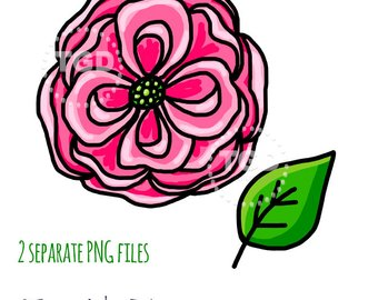 340x270 Pink Flower Clipart Pink Flower Clip Art Pink Flower Png