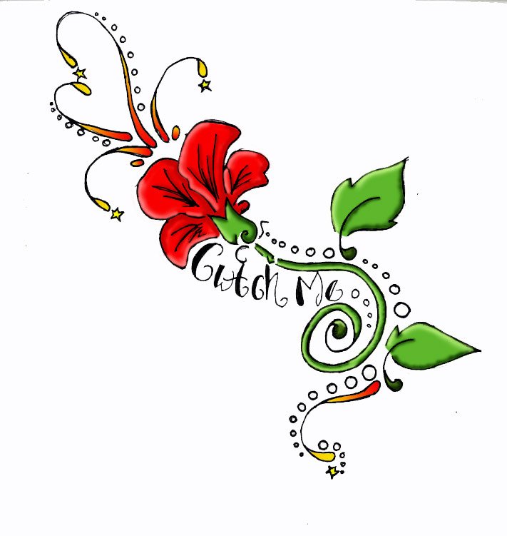 711x751 Tattoo Clipart Floral Design