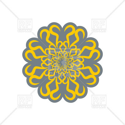 400x400 Arabic Ornament. Oriental Decorative Pattern. Royalty Free Vector