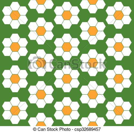 450x446 Flower Pattern Clipart Vector