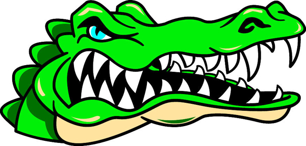 600x287 Collection Of Gator Head Clipart High Quality, Free Cliparts