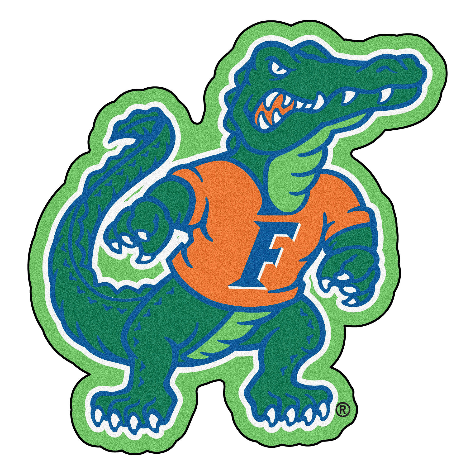 2000x2000 University Of Florida Gators Mascot Area Rug 643517217808 Ebay