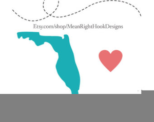 300x238 Clipart Florida State Outline Free Images