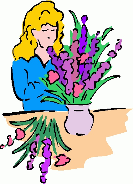 425x588 Clipart Of Flower Arrangements New Funeral Flowers Clip Art To Pin