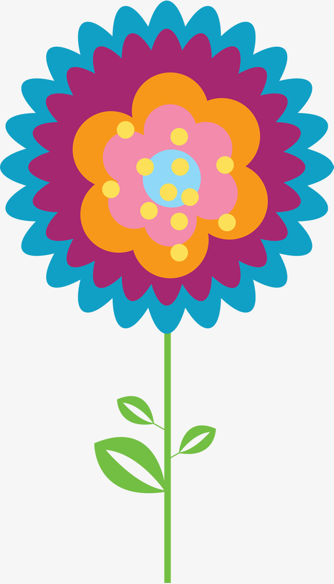 650x1137 Colour Layered Flowers, Colourful, Arrangement, Flower Png Image