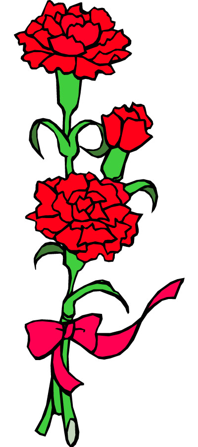 400x900 Funeral Clipart Floral