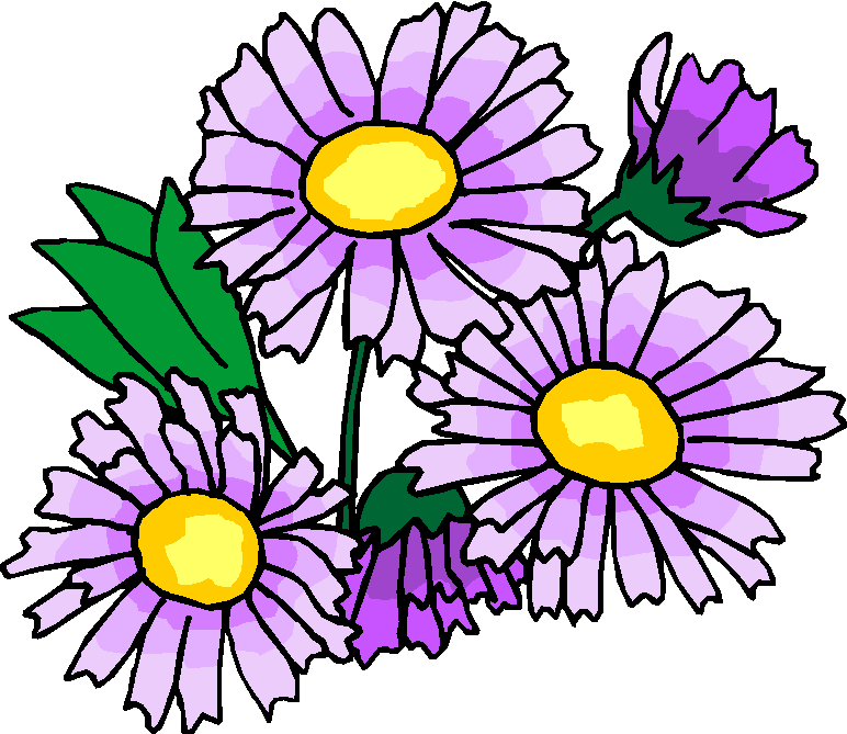 772x669 Spring Flowers Clip Art Free Gallery