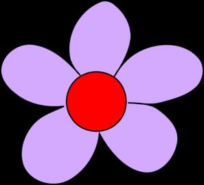 297x270 Light Purple Flowers Clip Art
