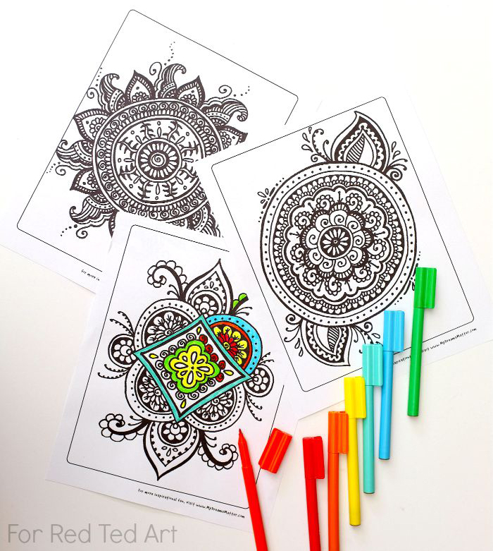 700x781 Free Adult Coloring Pages
