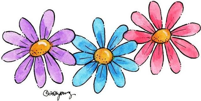 640x324 378 Best Clip Art, Etc. Flowers Images Painting