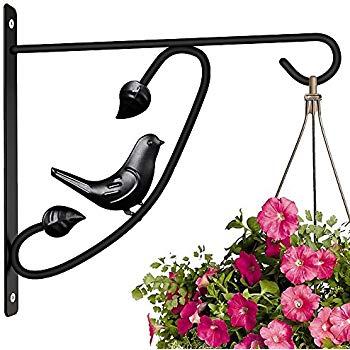 350x350 Hanging Plants Bracket 12in Wall Planter Hook Flower