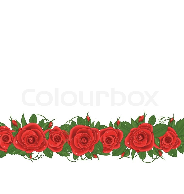 760x800 Gallery Free Rose Border Clip Art,