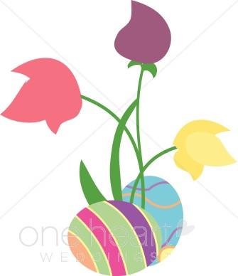 335x388 Easter Flower Clipart