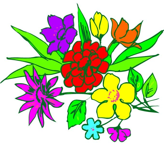 680x600 Flower Arrangements Clipart Awesome Bouquet Cliparts Flower