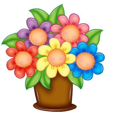 400x400 Flower Arrangements Clipart New Flower Bouquet Clip Art Free