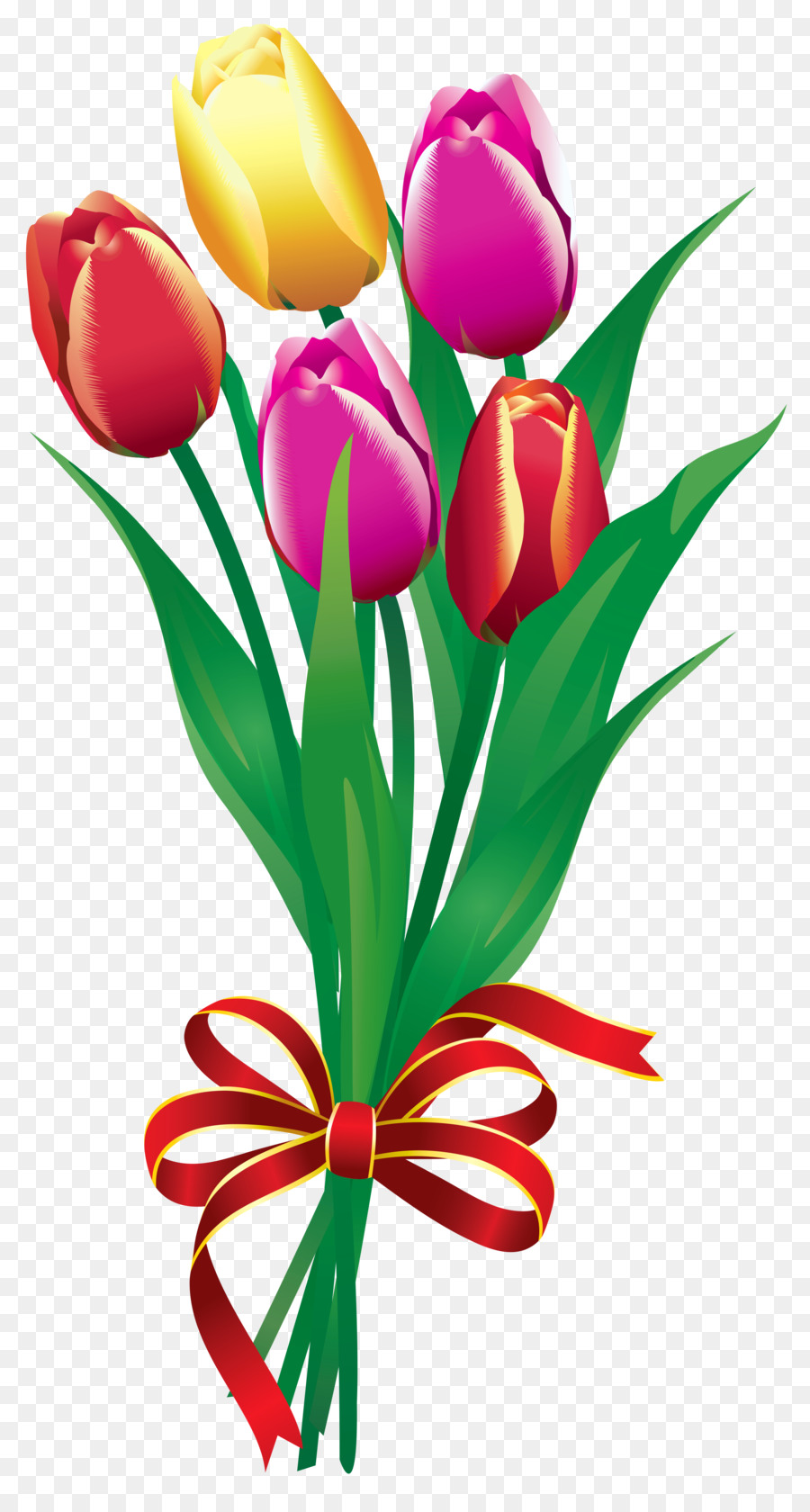 900x1680 Flower Bouquet Tulip Clip Art