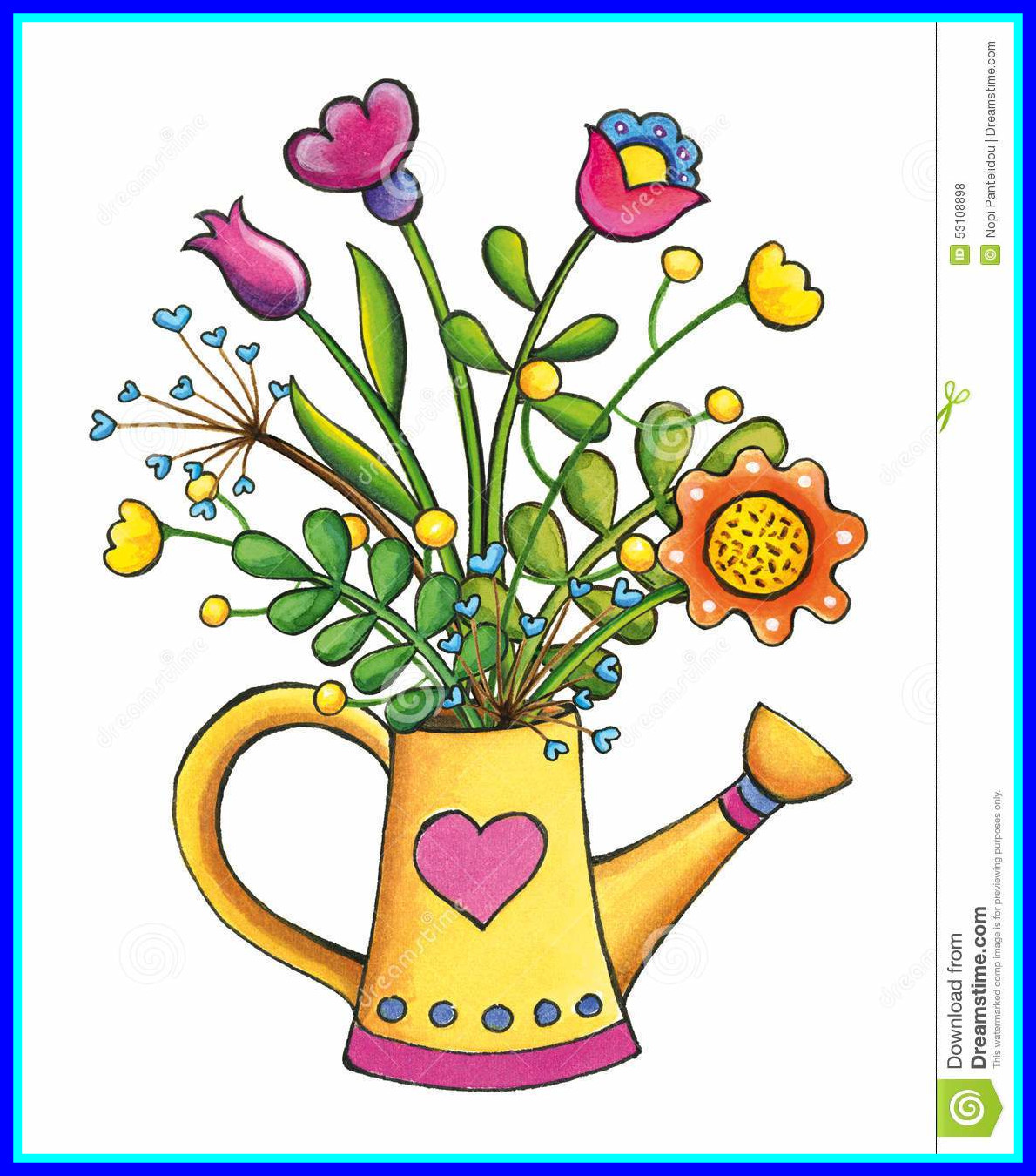 1190x1350 Best Spring Star Bouquet Royalty Vector Clip Art Image Picture