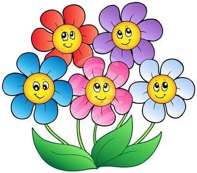 400x353 Photos Cartoon Clip Art Flowers,