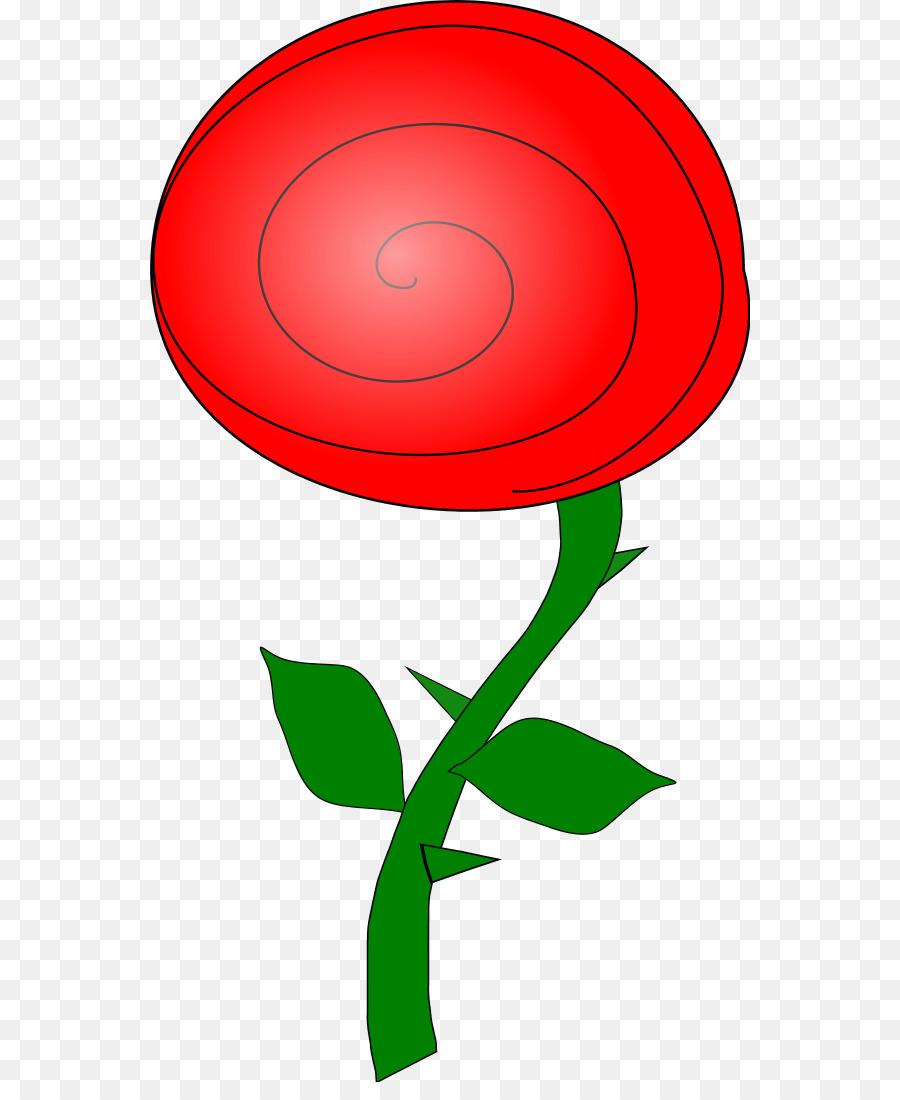 900x1100 Rose Flower Cartoon Clip Art