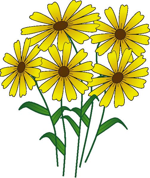 504x597 Cartoon Flowers Clip Art Flowers Clip Art