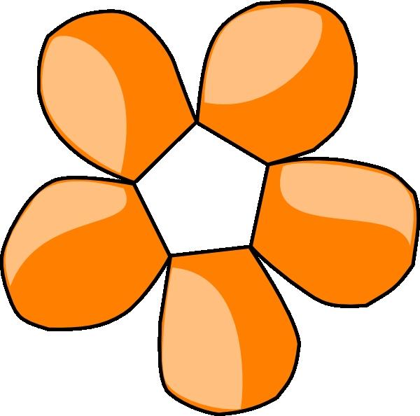 600x594 Free Clipart Orange Flowers Orange Flower Clip Art At Clker Vector