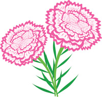 200x190 Free Flowers Clipart