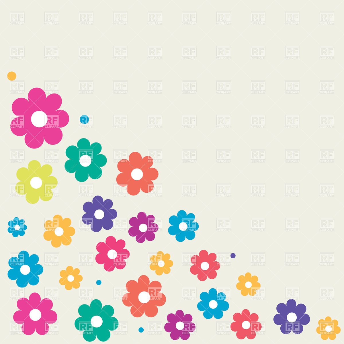 1200x1200 New Flower Cartoon Pictures Clip Art Coloring Spring Face Drei