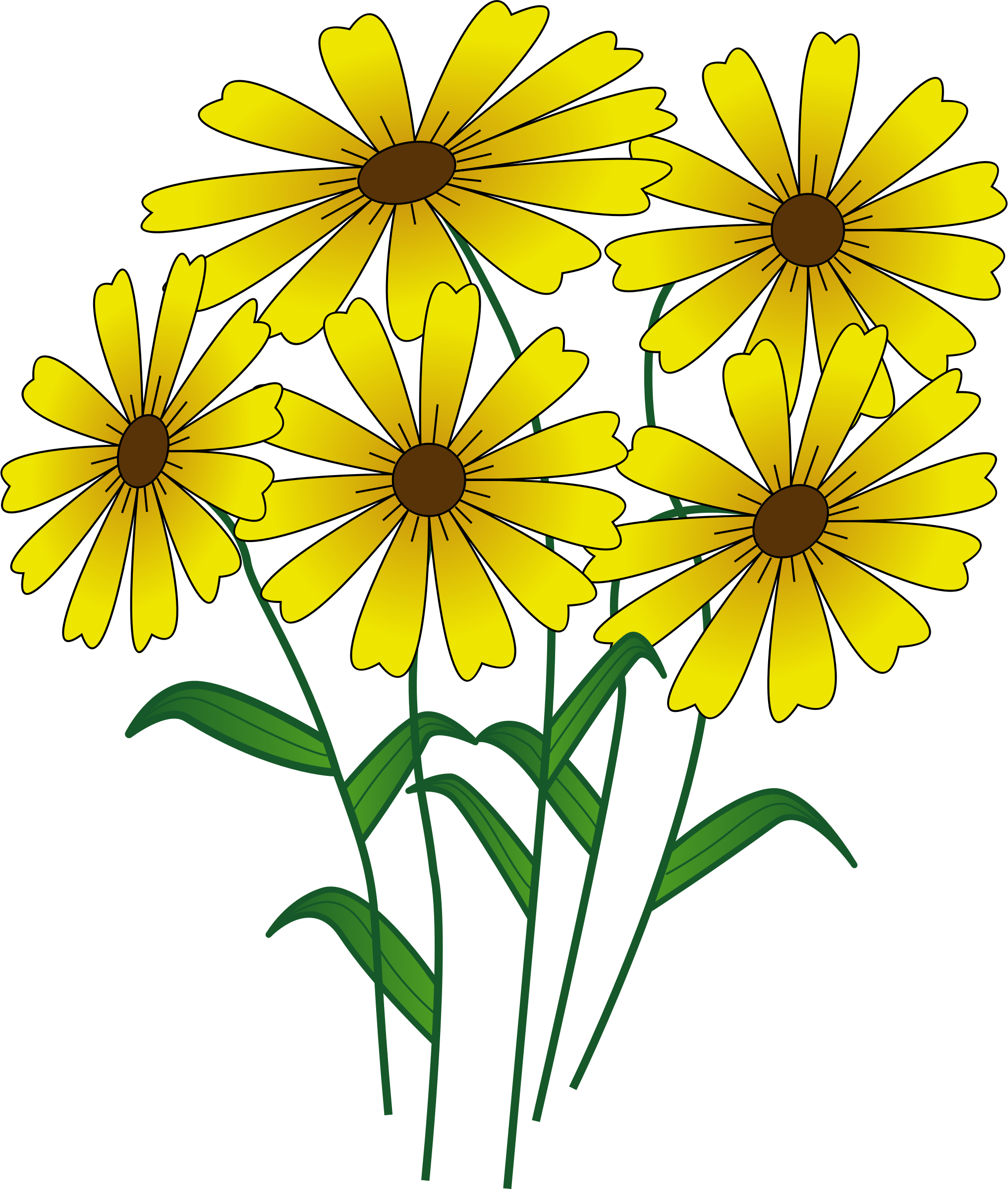 Flower Clipart Pinterest At Getdrawings Free For Personal Use