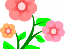 220x165 Png Free Clipart Hibiscus Flower Clip Art Painted Faces