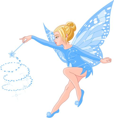 Flower Fairy Clipart