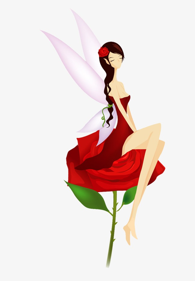 650x937 Flower Fairy, Rose Fairy, Fairy, Butterfly Png Image And Clipart