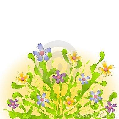 400x400 Flower Garden Border Clip Art New Design Clipart